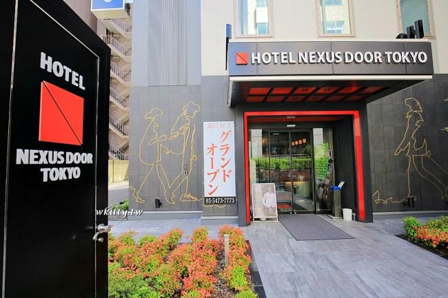 nexus door tokyo-東京鐵塔住宿推薦-飯店交通方便-啤酒喝到飽 @小環妞 幸福足跡