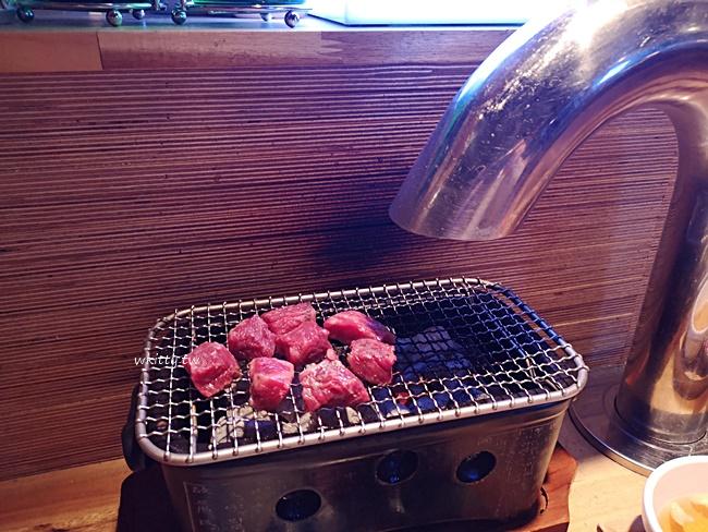 【首爾弘大一人烤肉】뱃장韓牛燒烤(船艙烤韓牛),單人一爐,大推! @小環妞 幸福足跡