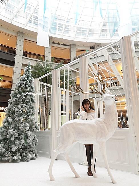 【2018 BELLAVITA聖誕節裝飾】台北貴婦百貨過聖誕,北歐雪國極地風 @小環妞 幸福足跡