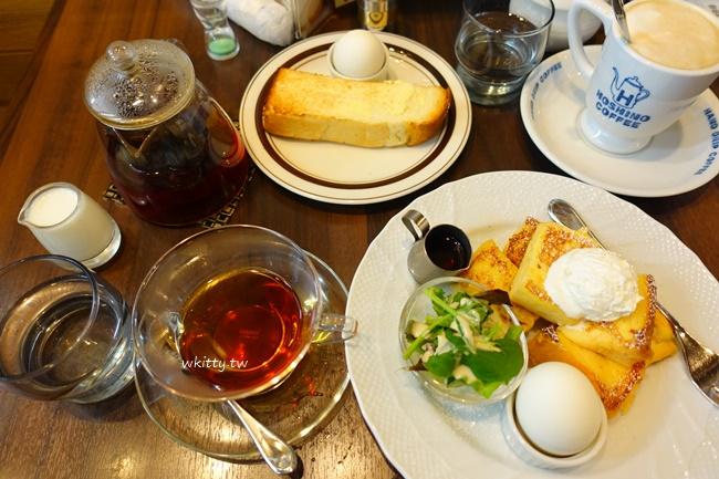 【京都車站早餐推薦】星乃珈琲店,懷舊復古咖啡廳,法式吐司早餐 @小環妞 幸福足跡