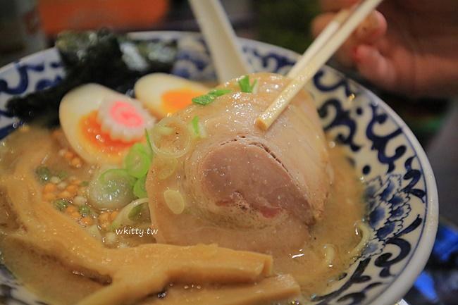 【東京車站拉麵】一番街-斑鳩拉麵,豚骨魚介濃厚湯頭,重口味推薦! @小環妞 幸福足跡