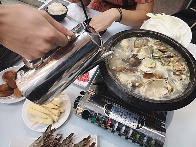 【高雄卜卜鍋】酒爐澳門卜卜蜆-九如店,台灣就吃得到澳門蛤蜊鍋! @小環妞 幸福足跡