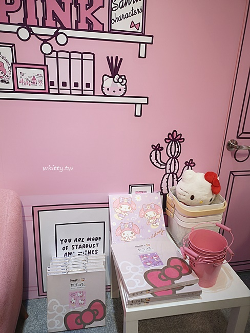 【華山免費展覽】三麗鷗粉紅閨蜜快閃店,超萌Kitty-美樂蒂-大耳狗 @小環妞 幸福足跡