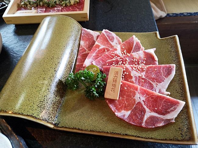 【台中燒肉推薦】瓦庫燒肉Wow Cool,紅磚古宅內吃燒烤,CP值高! @小環妞 幸福足跡