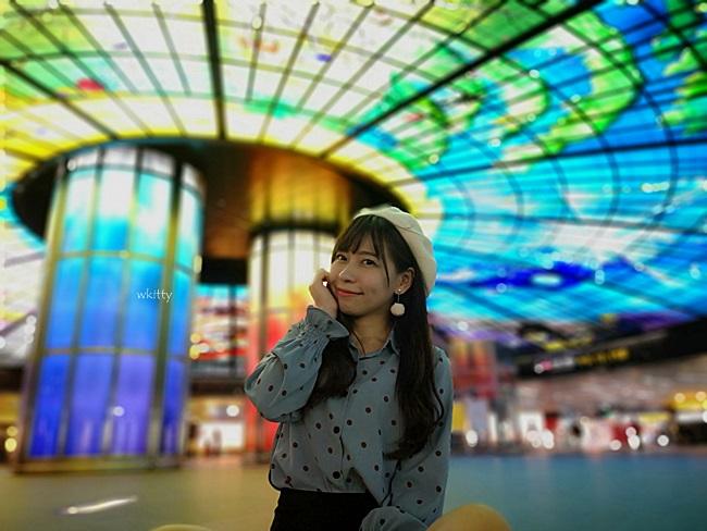 【高雄美麗島捷運站】必去!光之穹頂好震撼,票選為世界第2美車站 @小環妞 幸福足跡