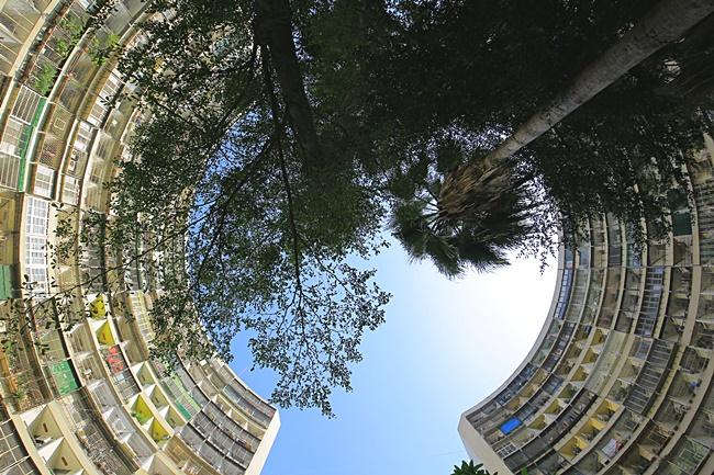 【高雄左營景點】果貿社區,IG打卡必去,密集圓弧住宅,一秒飛香港! @小環妞 幸福足跡