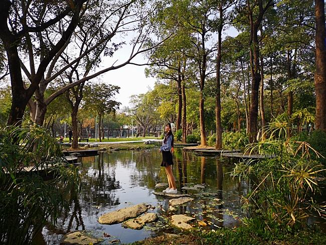 【高雄鳳山】大東濕地公園,近大東文化藝術中心,城市版忘憂森林! @小環妞 幸福足跡