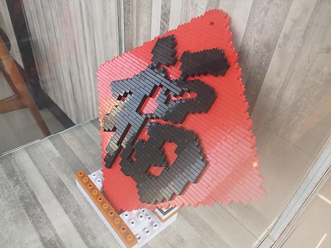 【台中樂高7-11】台中清水區景點,711億承門市,全台唯一積木主題 @小環妞 幸福足跡