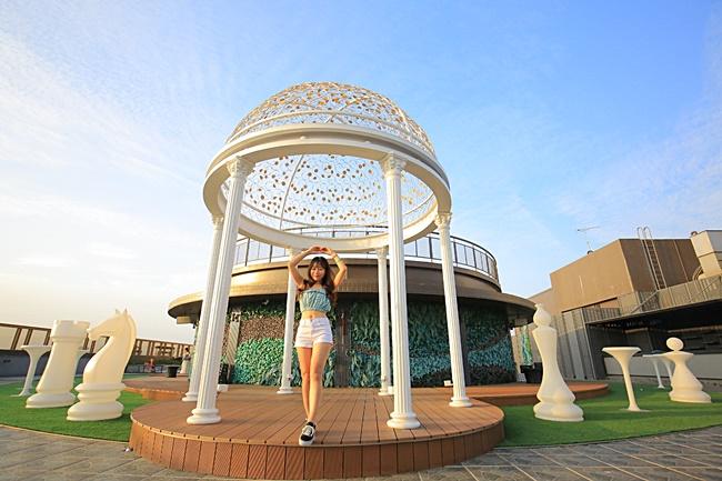 【台南親子飯店】夏都城旅安平館,兒童遊戲室,高空泳池,早餐驚豔! @小環妞 幸福足跡