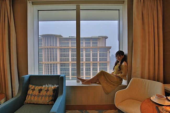 【澳門瑞吉酒店】金沙城中心最高檔五星級飯店,spa,自助餐超級優! @小環妞 幸福足跡