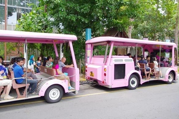 【聖淘沙交通】新加坡聖淘沙名勝世界怎麼去?單軌,纜車,巴士,入島費 @小環妞 幸福足跡