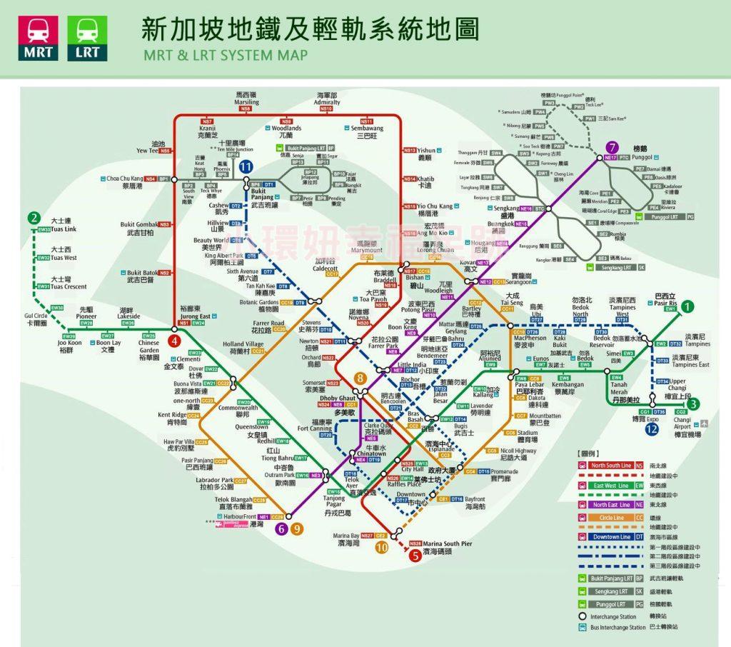 【新加坡交通】地鐵MRT-計程車-機場接送-單軌-觀光巴士,一篇搞懂 @小環妞 幸福足跡