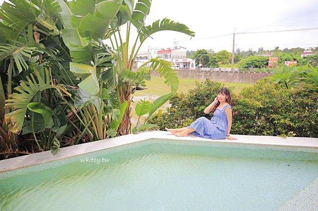 【屏東墾丁】貝拉司漫民宿,恆春民宿推薦,有浴缸,小泳池,早餐豐盛! @小環妞 幸福足跡