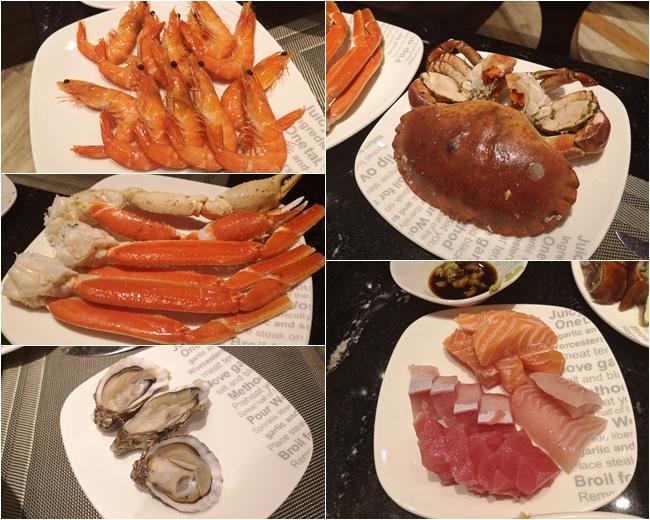 【新濠影匯自助餐】星匯餐廳buffet優惠,現剝生蠔,螃蟹,蟹腳吃到飽 @小環妞 幸福足跡