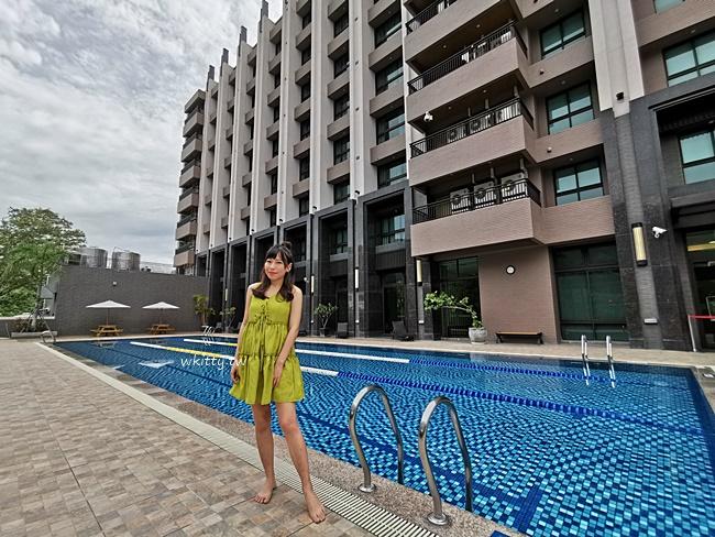 【台東F HOTEL】知本住宿推薦,平價便宜,有泳池SPA水療桑拿,超讚! @小環妞 幸福足跡
