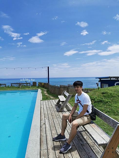 【台東都蘭景點】都蘭海角咖啡,看海吃美食,海旁戲水泳池,燉飯必點 @小環妞 幸福足跡
