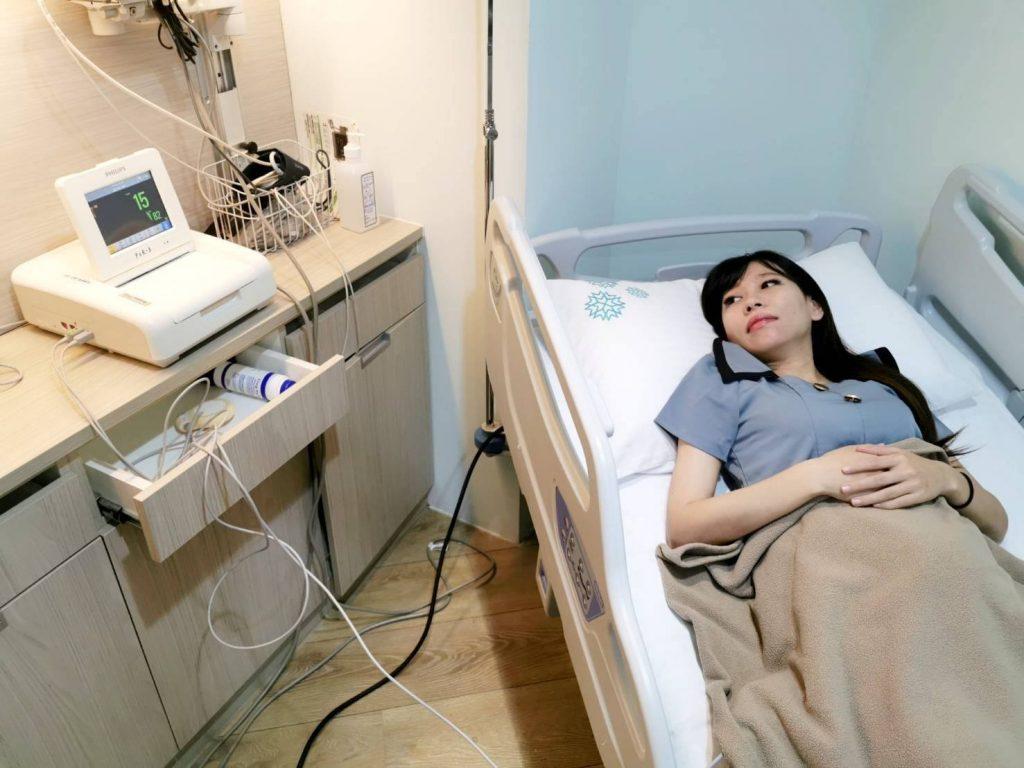 【懷孕21週】突如其來懷孕中期宮縮掛急診,好怕要安胎驚魂記! @小環妞 幸福足跡