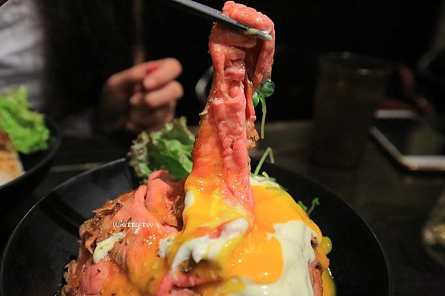 【東京原宿美食】Red Rock,烤牛肉飯疊成一座山,生蛋黃流下超邪惡 @小環妞 幸福足跡