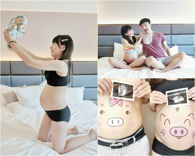 【懷孕32週】自助孕婦寫真不求人,拍攝地點,準備道具,拍攝眉角分享! @小環妞 幸福足跡