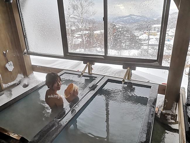 【藏王溫泉飯店】最上高湯七乃湯,貸切風呂超美,大雪紛飛中泡溫泉! @小環妞 幸福足跡
