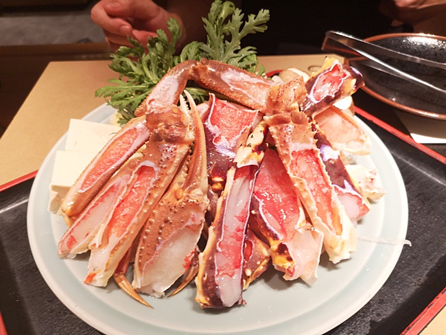 【大阪螃蟹】以蟹茂螃蟹料理專門店-心齋橋,螃蟹河豚多吃大滿足! @小環妞 幸福足跡