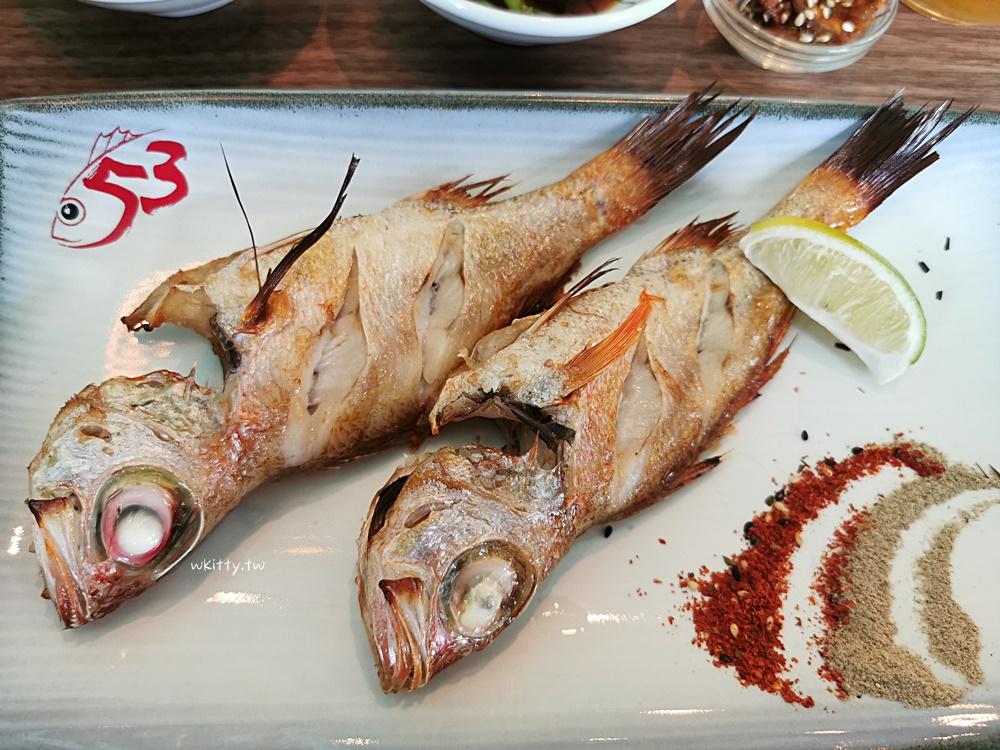 【宜蘭頭城海鮮餐廳】伍參港海廚料理,海邊吃海魚定食,午間限定! @小環妞 幸福足跡