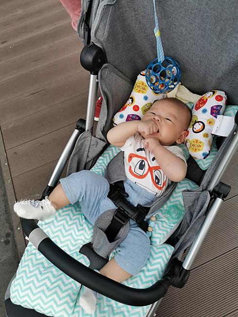 【Chicco Goody魔術瞬收手推車】秒收輕型嬰兒車,超神奇超好推可登機 @小環妞 幸福足跡