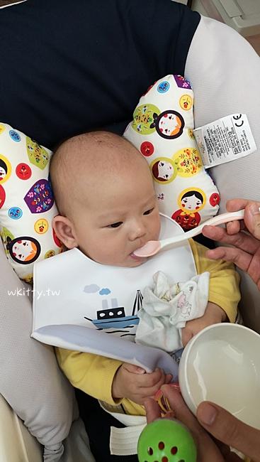 【寶寶4個月副食品製作】十倍粥米糊,怎麼餵寶寶吃副食品教學分享 @小環妞 幸福足跡