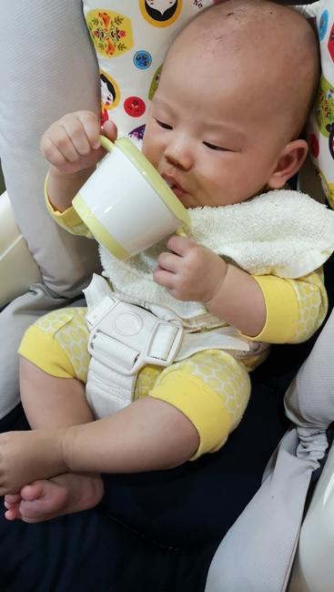 【副食品製作】南瓜泥,南瓜米糊,蒸熟壓碎就可吃,4m寶寶接受度高 @小環妞 幸福足跡