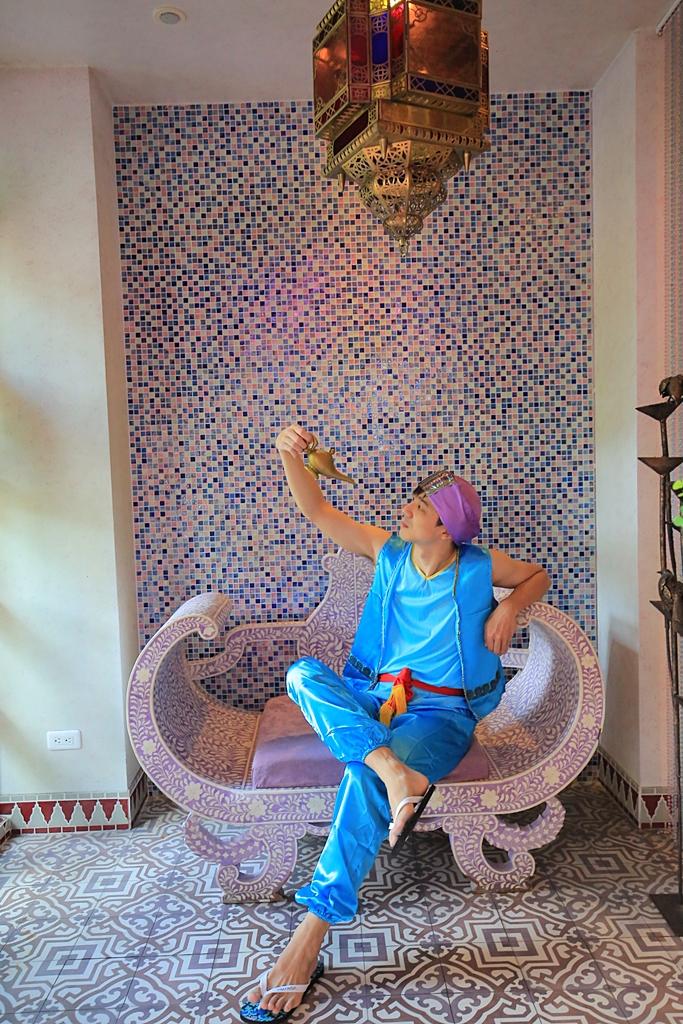 【墾丁網美必住】亞曼達會館,體驗北非摩洛哥風情,還可變身中東公主 @小環妞 幸福足跡