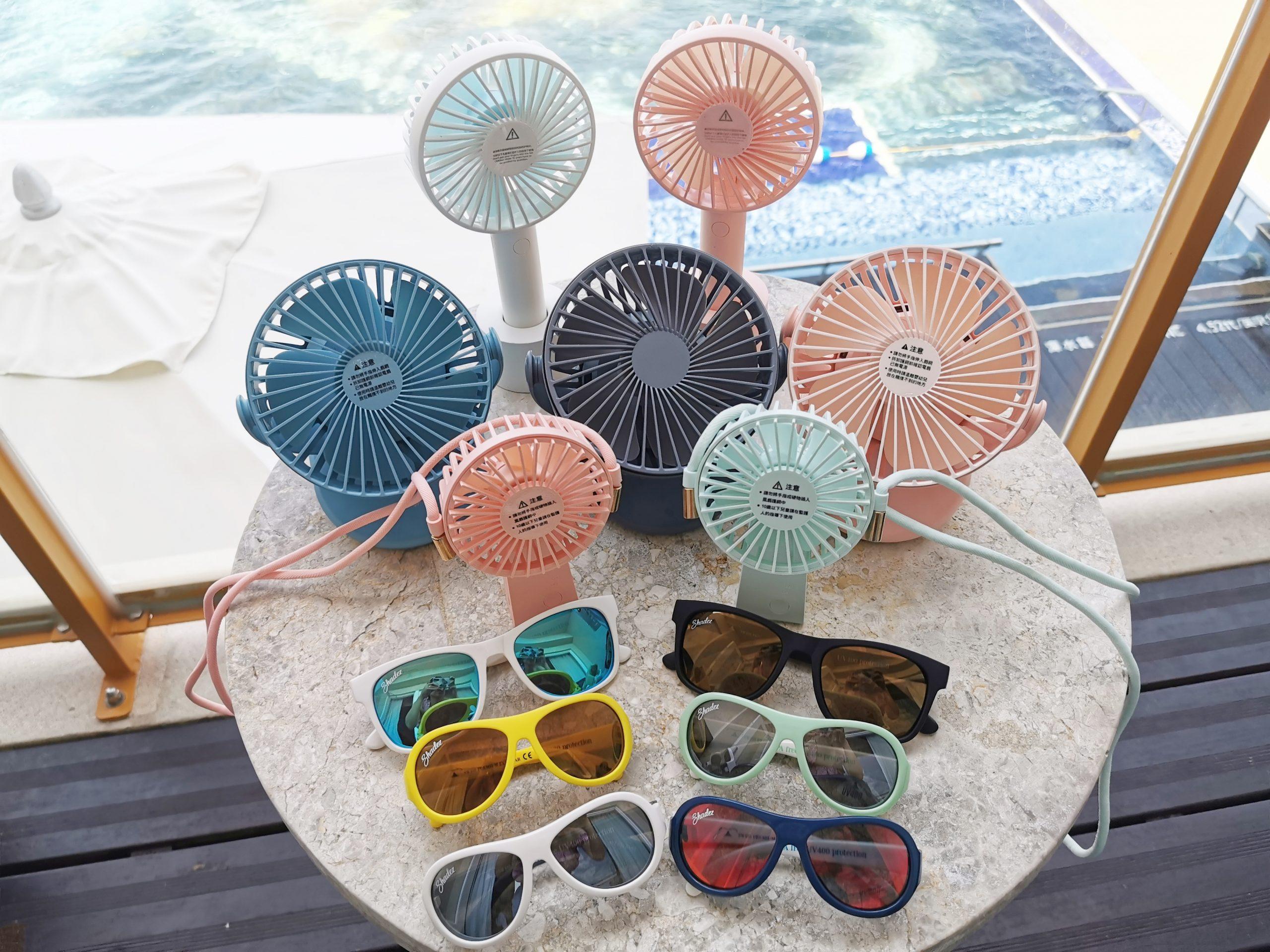 【團購】艾美特電風扇x兒童太陽眼鏡,今夏最夯抗暑神器,推薦必敗! @小環妞 幸福足跡