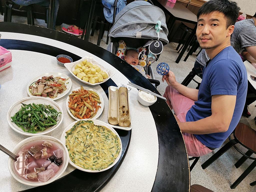 【烏來老街美食推薦】山地美食屋,吃山野菜,炸溪蝦,珠蔥煎蛋,平價好吃! @小環妞 幸福足跡
