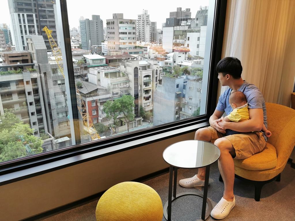 【和苑三井花園飯店】17樓頂樓高空大浴場,濃濃日本味,眺望台北市中心市景 @小環妞 幸福足跡