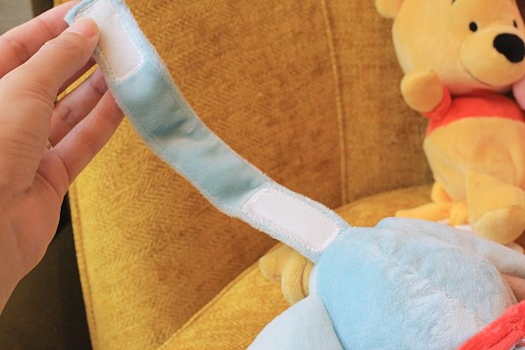 【Zoobies迪士尼安撫玩偶】玩偶毯/迪士尼睡袋/迪士尼玩偶安撫巾/防走失包 @小環妞 幸福足跡
