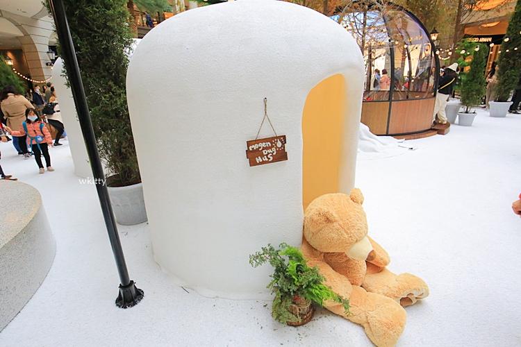 【貴婦百貨聖誕節】Bellavita過聖誕,北歐風冰天雪地,夢幻雪屋,玻璃泡泡冰屋,活動到1/3 @小環妞 幸福足跡