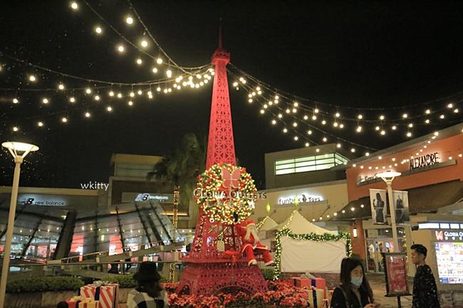 【2020華泰名品城聖誕村】水上聖誕樹,夢幻飄雪,異國風,點燈時間,飄雪時間及拍攝全攻略 @小環妞 幸福足跡