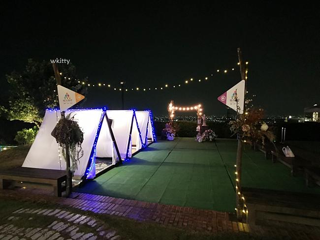 【彰化夜景餐廳】極光森林,星光帳篷內用餐,百萬夜景,親子遊戲室,約會好去處 @小環妞 幸福足跡