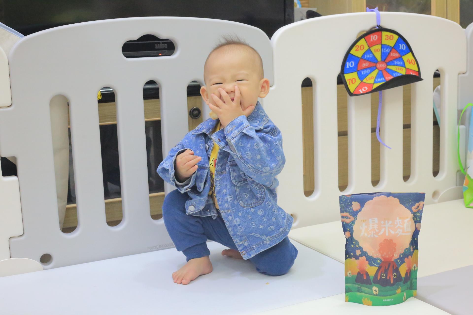 【地表最強育兒點心】好米芽無添加寶寶點心,爆米麵.爆白米.爆糙米.爆米香,寶寶一口接一口 @小環妞 幸福足跡