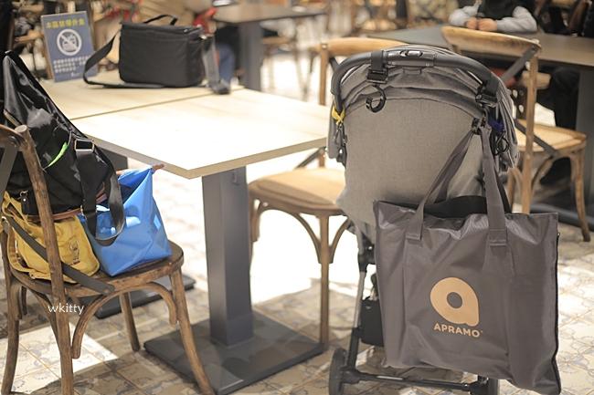 【育兒好物】Apramo Flippa可攜式兩用兒童餐椅/Umee優酷企鵝水杯/Mombella 固齒器 @小環妞 幸福足跡