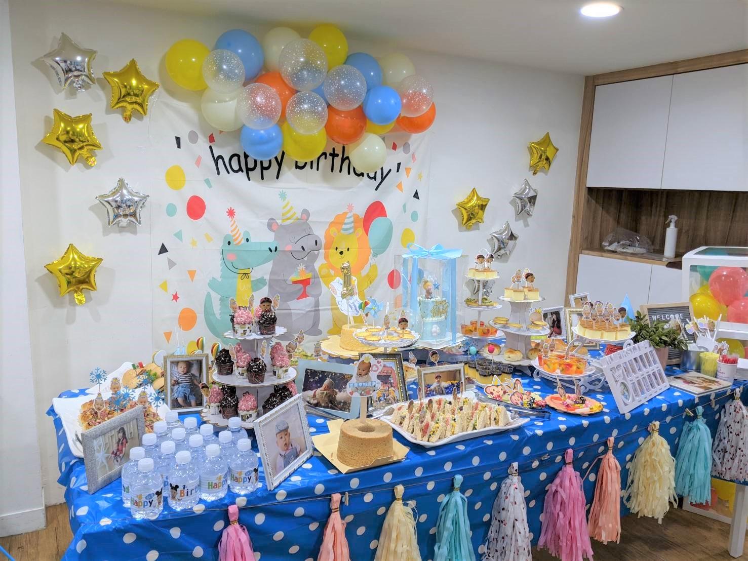 【寶寶周歲抓周慶生派對】全部媽媽親力親為,耗時兩個月規劃,蛋糕.場地.佈置.餐點.周邊全紀錄 @小環妞 幸福足跡