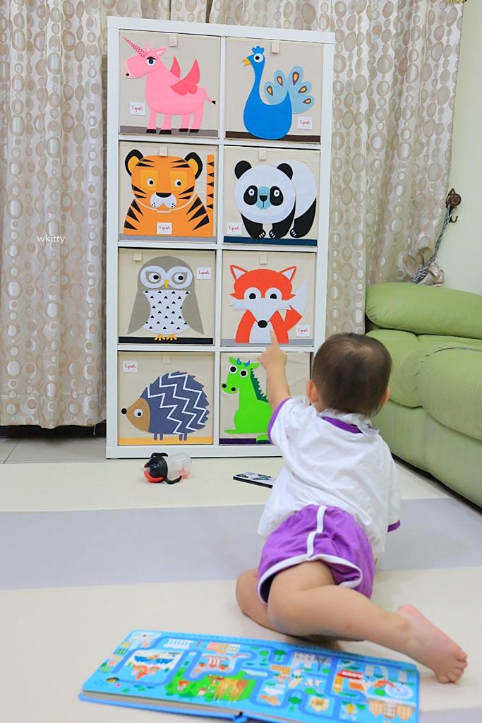 【團購】兒童玩具收納箱推薦!加拿大3sprouts,歐美超熱門品牌,好評加開第3團!要買要快~ @小環妞 幸福足跡