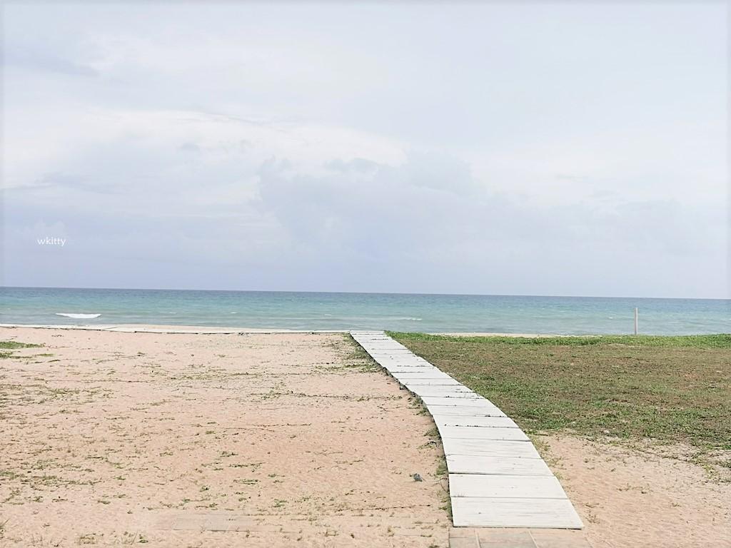【澎湖景點】白灣景觀餐廳,澎湖看海秘境一望無際的海岸線,林投公園旁順遊 @小環妞 幸福足跡