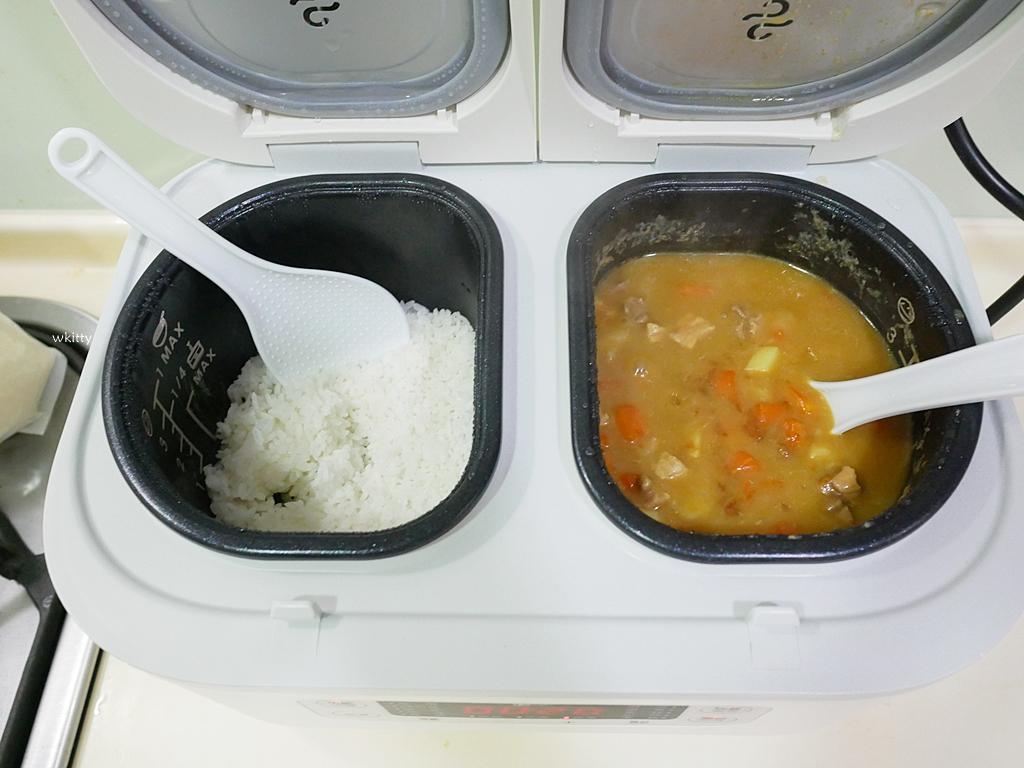 【團購】義大利Giaretti 雙廚多功能電子鍋,一次完成4道菜,忙碌媽媽的神隊友 @小環妞 幸福足跡