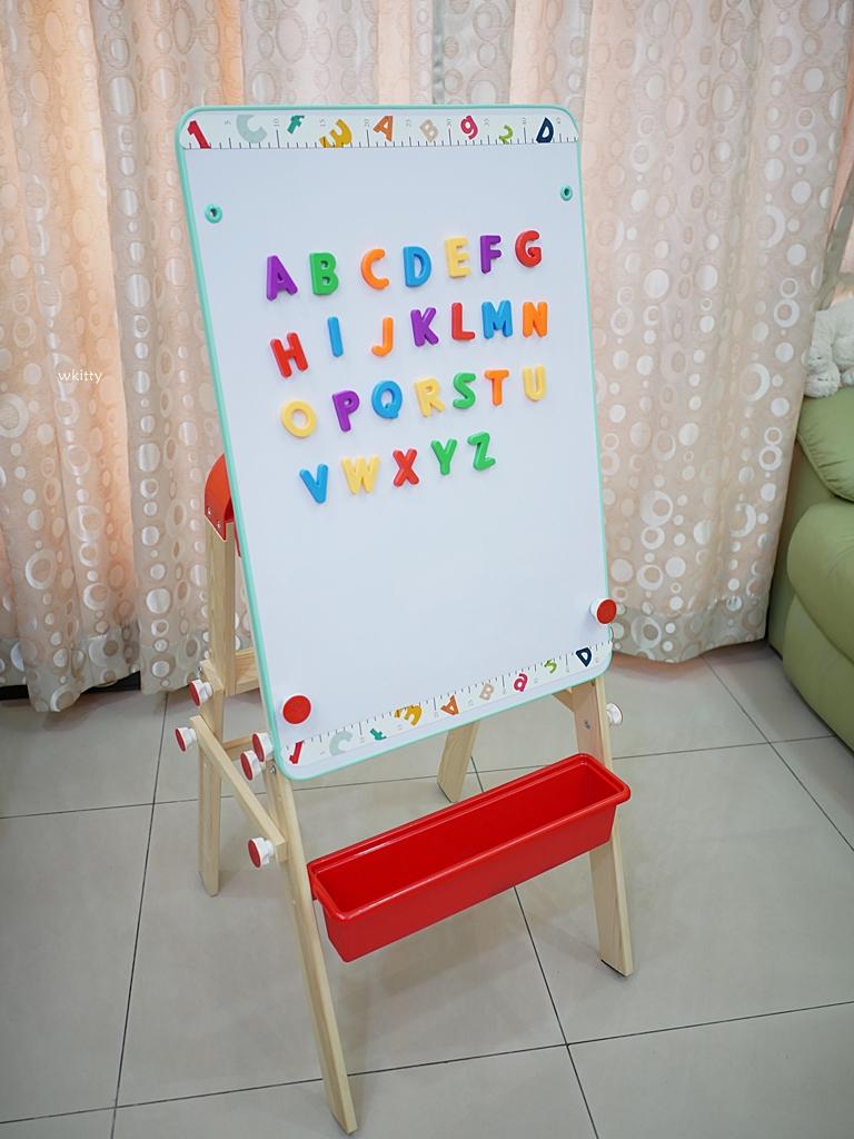 【Top Bright二合一畫板書桌團購】可當畫板也可當書桌,只要跟團還送你兩大贈品喔! @小環妞 幸福足跡